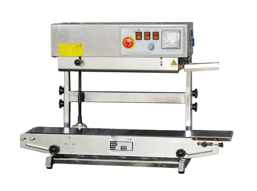 "ertical continuous band sealer seal width – 8mm (0.31"") 15mm option"